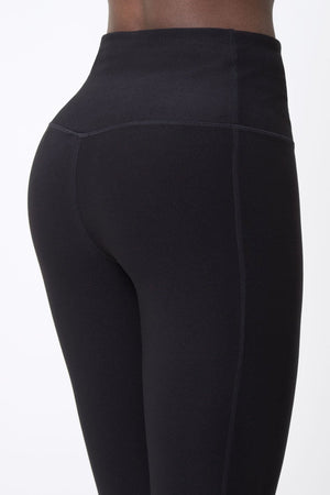 Revitalize High Waisted Black Leggings