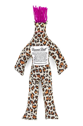 Lux Leopard Stress Doll at 14.99