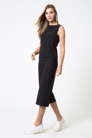 Day to Night Wide Waistband Culottes - Rebel