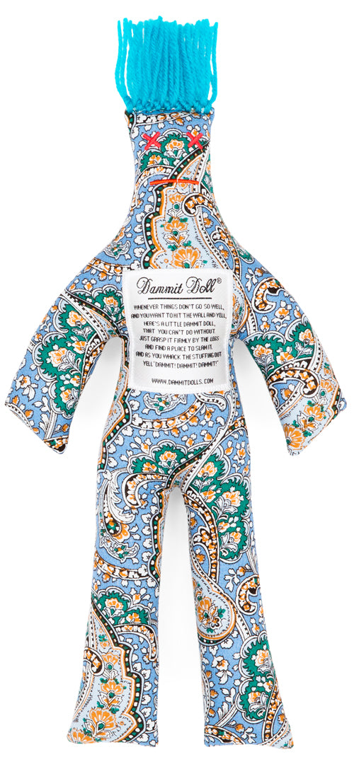 Dammit Doll PAISLEY PICASSO STRESS DOLL