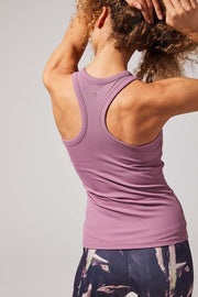 Renegade Knit Tank - Dusty Rose at 34.99