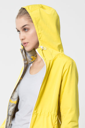 Innovate Reversible Camo Anorak Jacket - Lemon