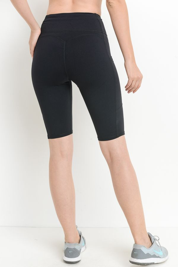 High Waisted Short Leggings