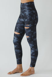 Slashed Leggings (Silver Camo) at 98.00
