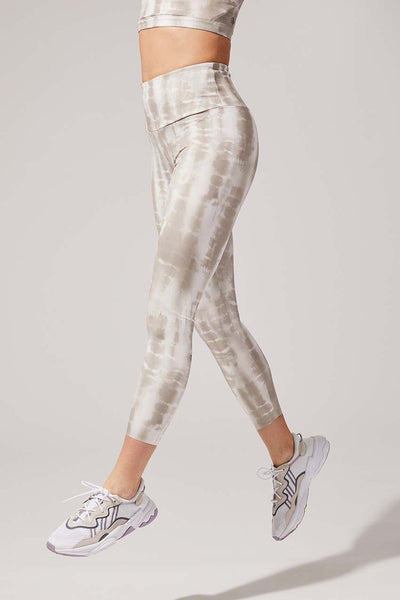 Strive 7/8 Leggings - Neutral Tie Dye at 47.00