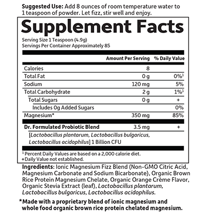 Whole Food Magnesium Powder at 27.99