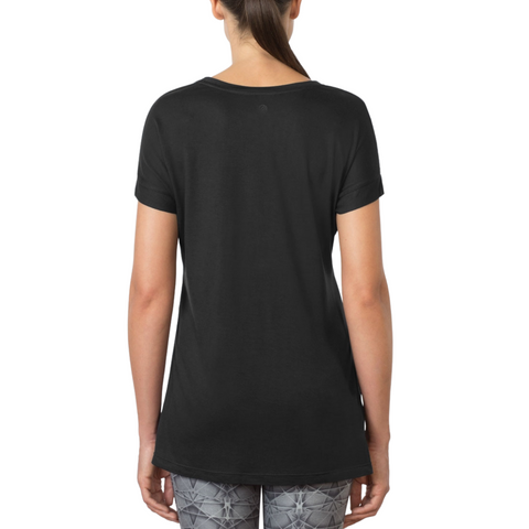 Pixel Split Side Tee