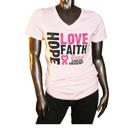 Breast Cancer Hope Tee Shirt