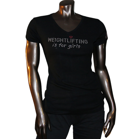 Weightlifting Is for Girls Tee Shirt