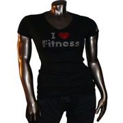 I Love Fitness Tee Shirt