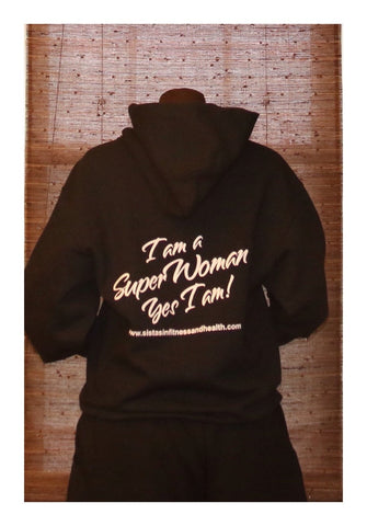 I Am A Super Woman Hoodie at 24.99