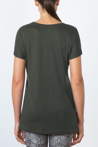 Pixel Split Side Tee at 24.99