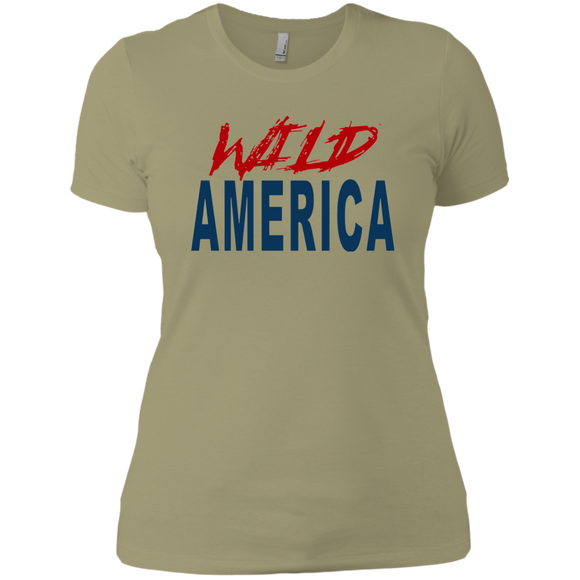Wild America Ladies' Boyfriend T-Shirt