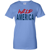 Wild America Ladies' 100% Cotton T-Shirt