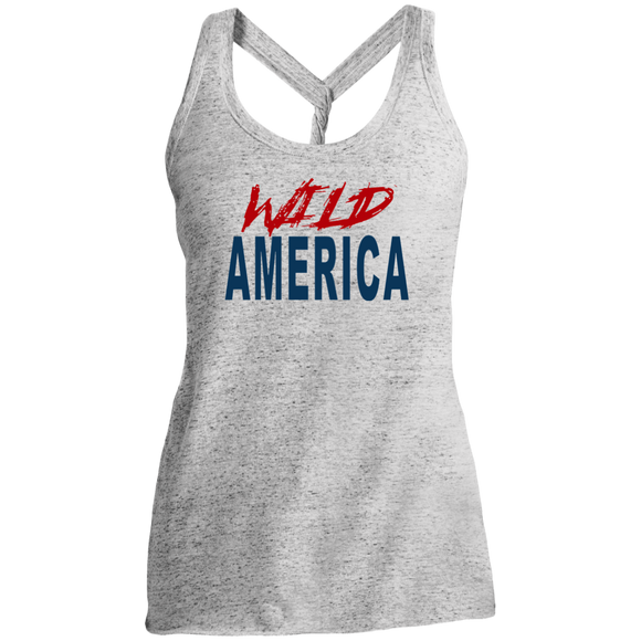 Wild America Ladies Cosmic Twist Back Tank