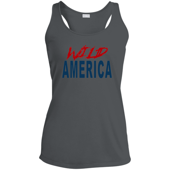 Wild America Ladies Racerback Moisture Wicking Tank