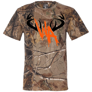 WA Short Sleeve Camouflage T-Shirt