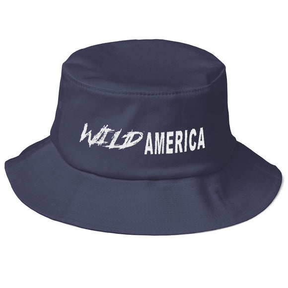 Wild America Old School Bucket Hat