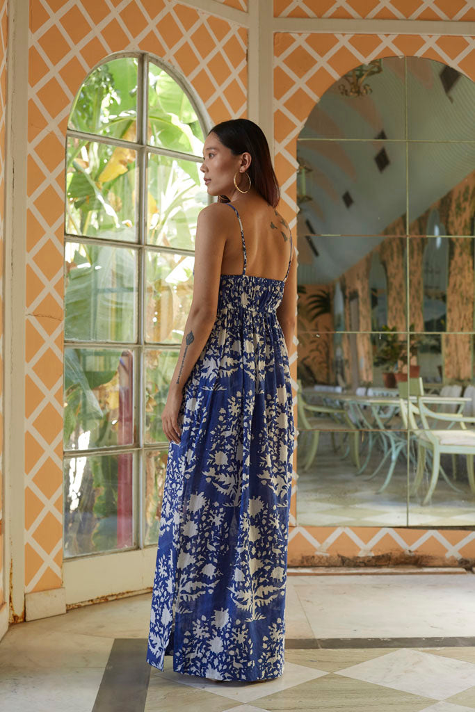 DONNA (MAXI DRESS INDIGO)