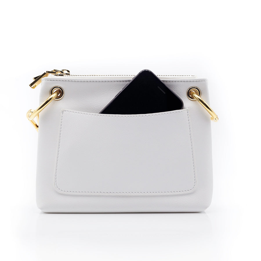 Amelia 1897 Functional Cross Body - Ivory
