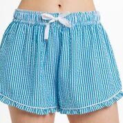 Seersucker Monogrammed sleep shorts (various colors)