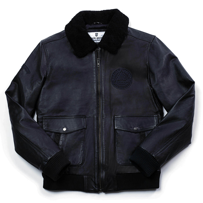"MARINE MACHINE ""MM04"" B-2 BOMBER JACKET"