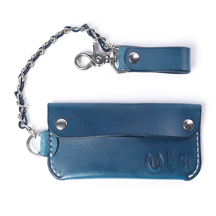"MARINE MACHINE CHAMBERLAIN CHAINED WALLET ""Water vs. Concrete"""