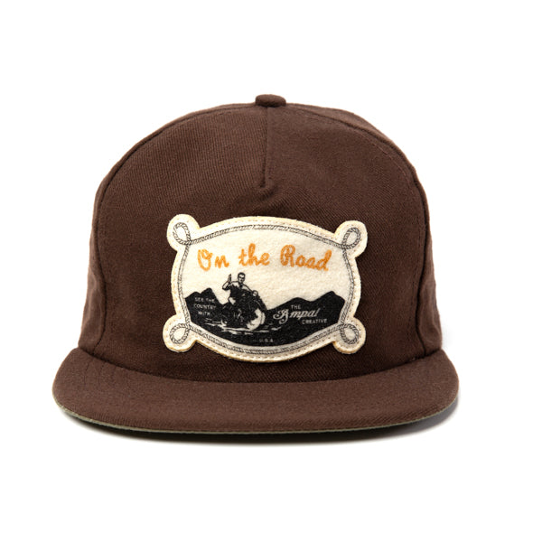 "THE AMPAL CREATIVE ""On The Road"" Strapback"