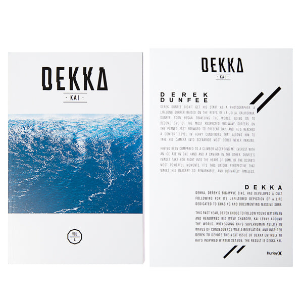 DEKKA - Kai Lenny Magazine Ltd. Edt.