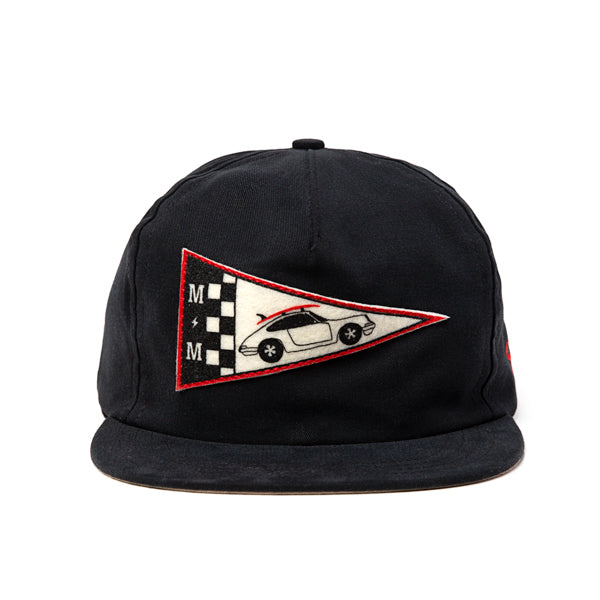 "MARINE MACHINE x THE AMPAL CREATIVE ""911-Pennant"" Strapback"