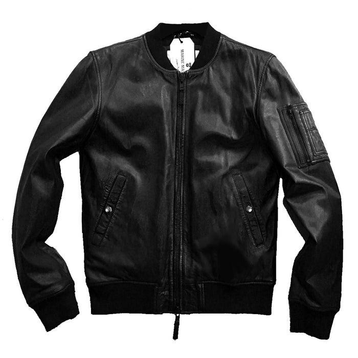 "MARINE MACHINE ""MM09"" TINO CLASSIC BOMBER JACKET"