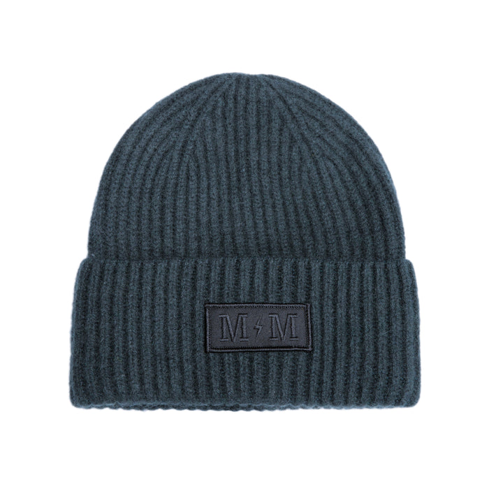 "MARINE MACHINE ""CASHMERE-BOLT"" BEANIE"