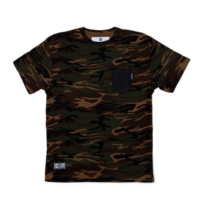 "MARINE MACHINE ""CAMO NAPPA CHEST POCKET"" T-SHIRT"