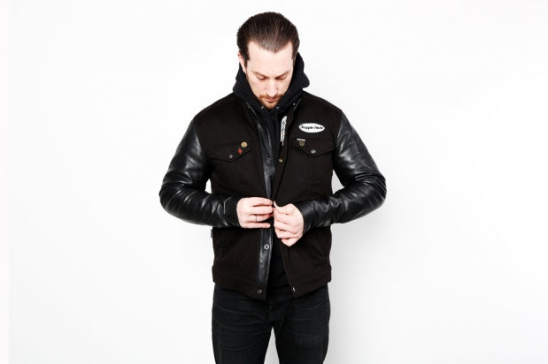"MARINE MACHINE ""MM21"" WES SHORT COLLAR BIKER"