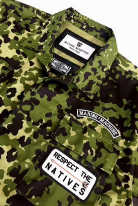 "MARINE MACHINE ""MM26"" HARTMAN CAMO JACKETS"