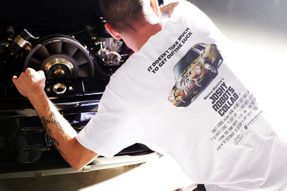 MARINE MACHINE x JOSHY ROBOTS CAPSULE COLLECTION