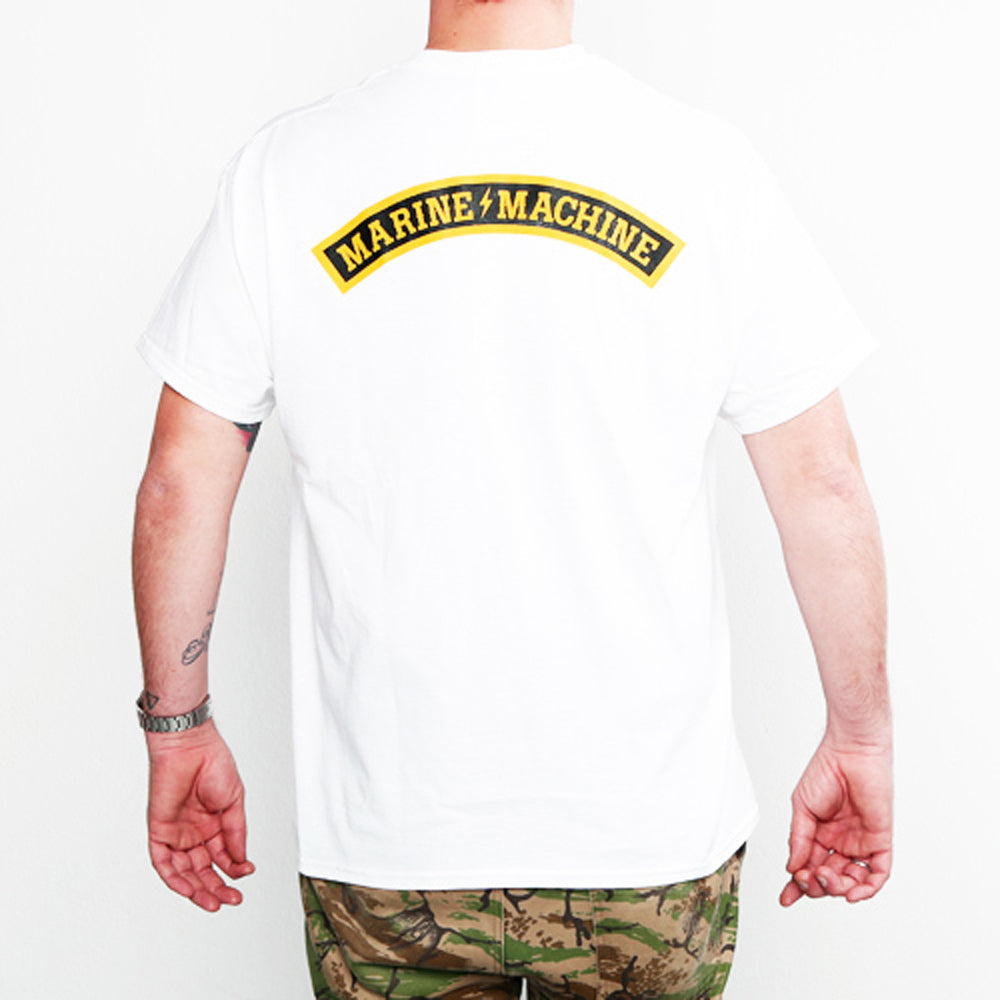 "MARINE MACHINE ""LOGO"" T-SHIRT"