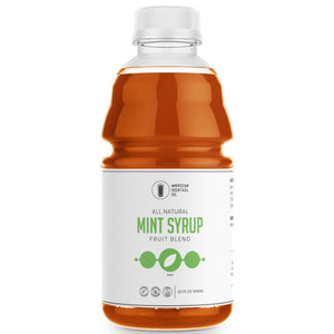 mint syrup 32 oz all natural