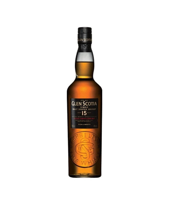 Glen Scotia 15 Year Scotch Whisky 750mL
