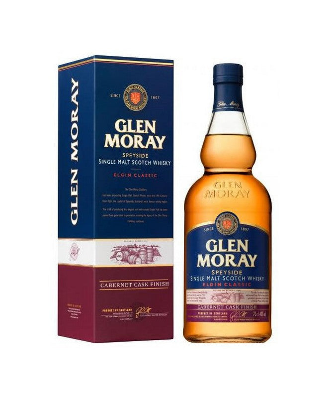 Glen Moray Elgin Classic Single Malt Scotch Whisky 750mL
