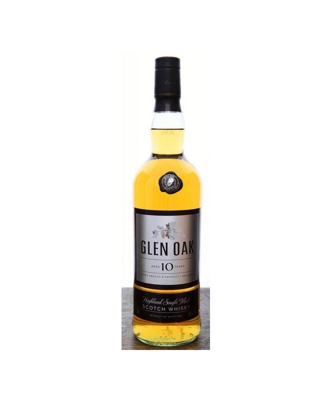 Glen Oak 10  Year Scotch Whisky 750mL