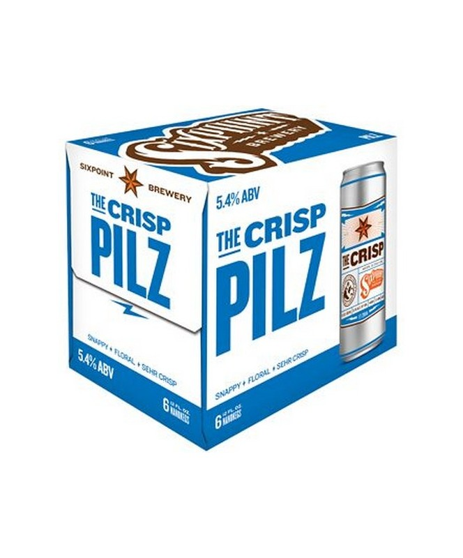 Sixpoint Brewery The Crisp 12oz 6 Pack Cans