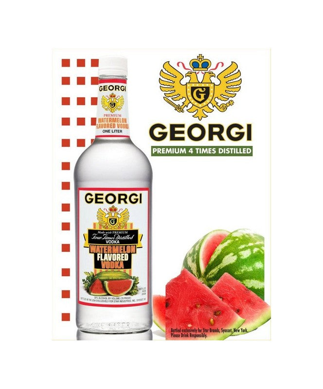 Georgi Watermelon Vodka 1.0L