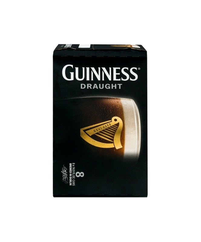 Guinness Draught 14.9oz 8 Pack Cans