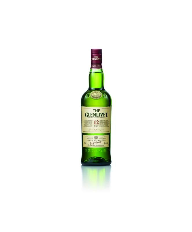 Glenlivet 12 Year Scotch Whisky 750mL
