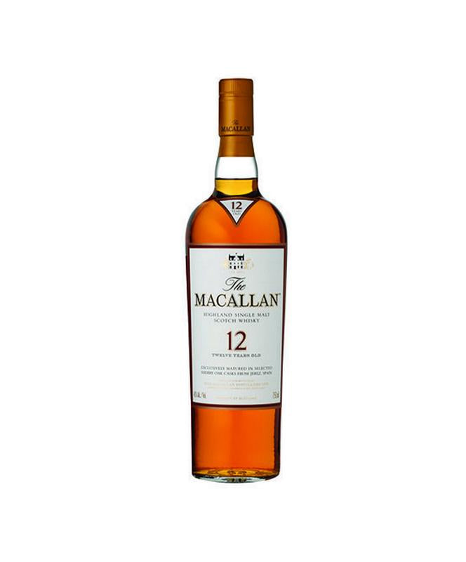 Macallan 12 Year Sherry Oak Scotch Whisky 750mL