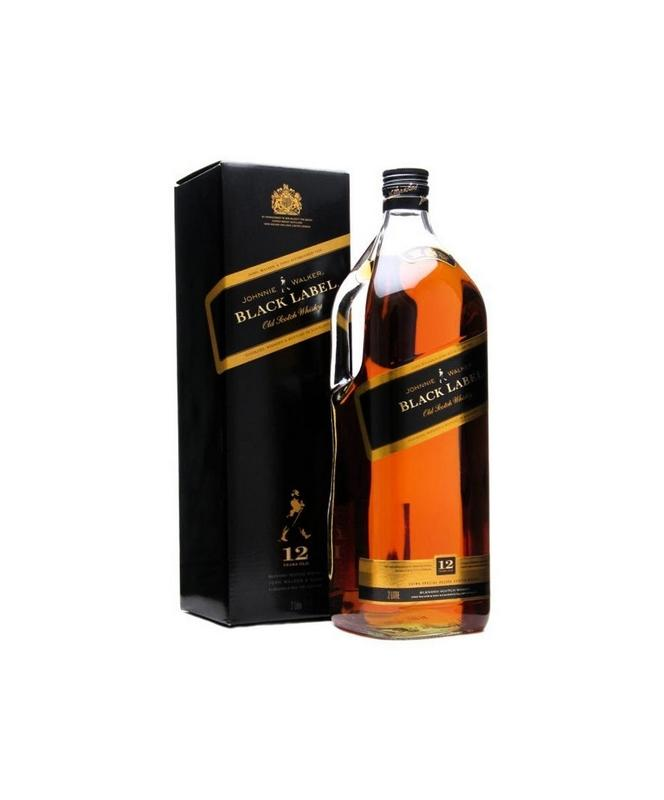 Johnnie Walker Black Scotch Whisky 1.75L