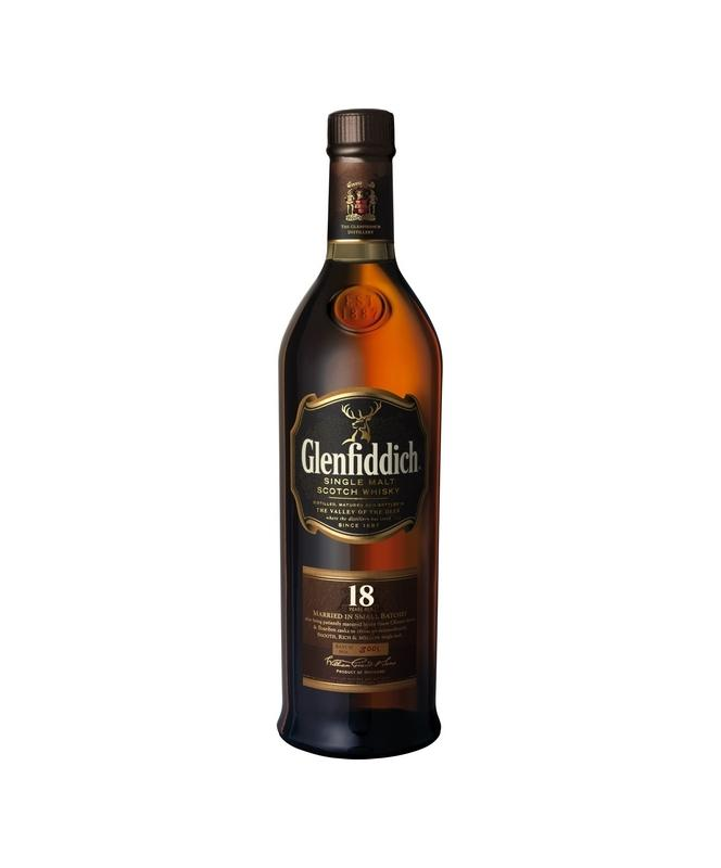 Glenfiddich 18 Year Scotch Whisky 750mL
