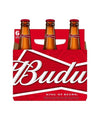 Budweiser 12oz 6 Pack Bottles
