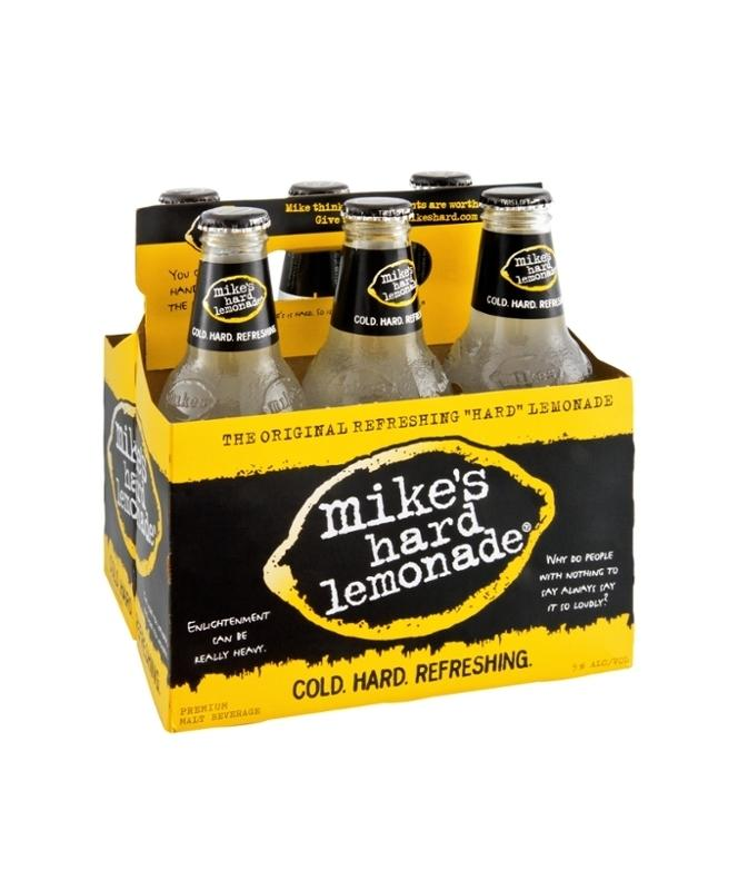 Mike's Hard Lemonade 11.2oz 6 Pack Bottles